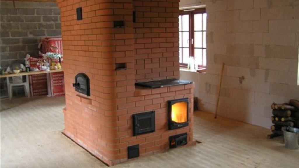 камины печи для дома дровяные